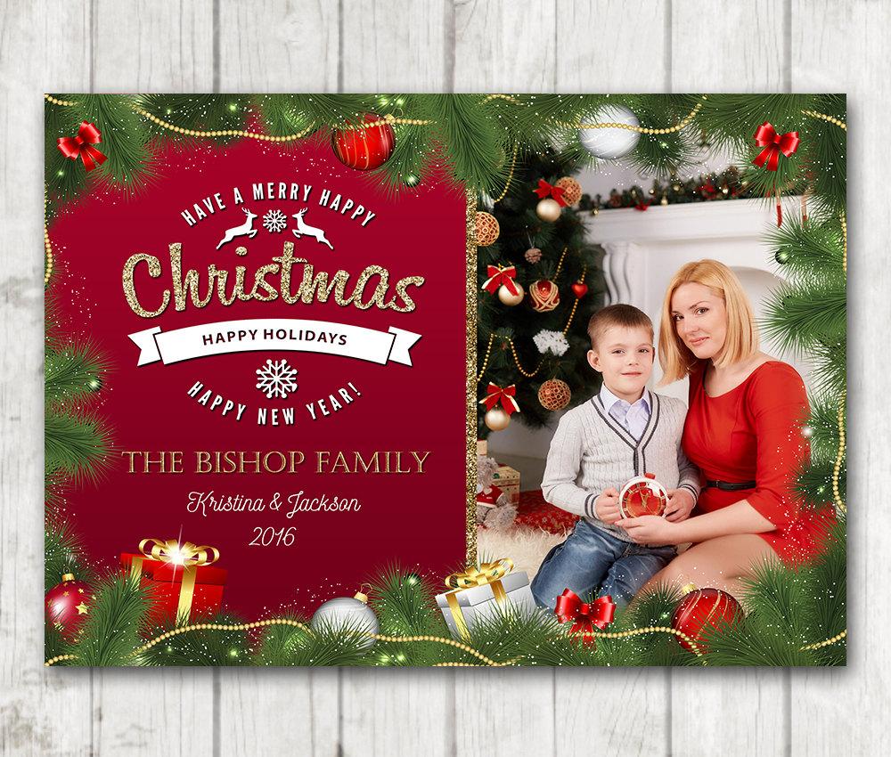 custom christmas card christmas card