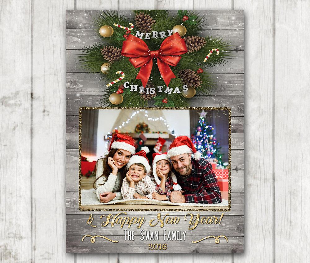 Custom Christmas Cards.Custom Christmas Card Christmas Card