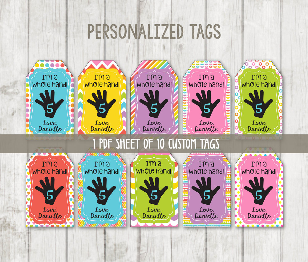 graphic about Printable Thank You Tags identify Printable Thank Your self Tags - Im A Full Hand Present Tags